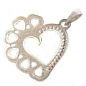 مدال نقره زیبا طرح عشق زنانه