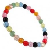 دستبند طرح رنگین کمان زنانه