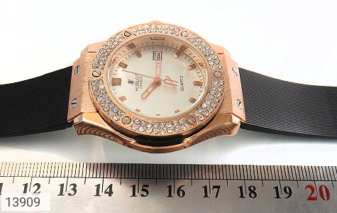 ساعت هابلوت بند پی‌یو HUBLOT PU BIG BANG - عکس 7