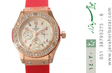 ساعت هابلوت بند پی‌یو HUBLOT PU BIG BANG زنانه - کد 14020