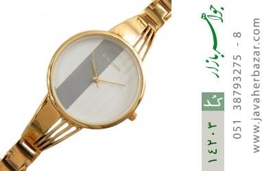 ساعت رمانسون Romanson مجلسی صفحه دورنگ زنانه - کد 14203