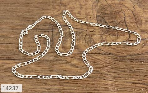 زنجیر نقره 48 سانتی طرح اسپرت - تصویر 2