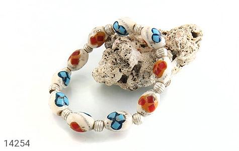 دستبند استخوان مرصع و زیبا زنانه - عکس 3