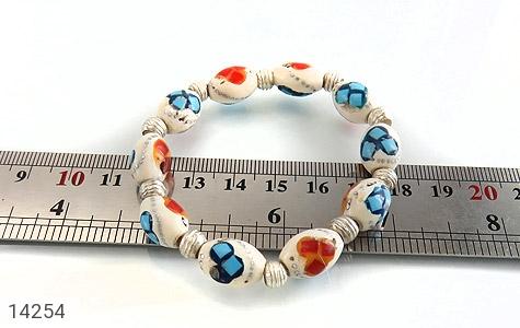 دستبند استخوان مرصع و زیبا زنانه - تصویر 4