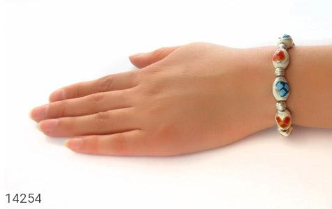 دستبند استخوان مرصع و زیبا زنانه - عکس 5