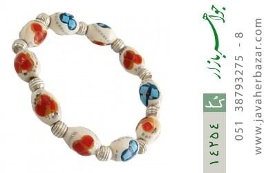 دستبند استخوان مرصع و زیبا زنانه - کد 14254