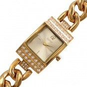 ساعت اسپریت Esprit دورنگین مجلسی طلائی زنانه