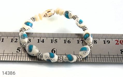 دستبند استخوان مرصع و خوش طرح زنانه - تصویر 4