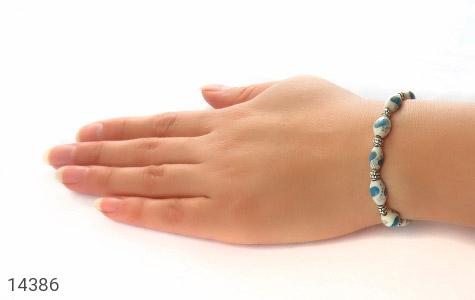 دستبند استخوان مرصع و خوش طرح زنانه - عکس 5