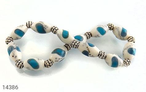 دستبند استخوان مرصع و خوش طرح زنانه - تصویر 6