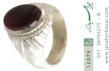 انگشتر عقیق یمن هنر دست استاد یکتا - کد 14528
