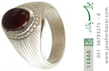 انگشتر عقیق یمن هنر دست استاد یکتا - کد 14555