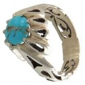انگشتر فیروزه نیشابوری شجر مردانه