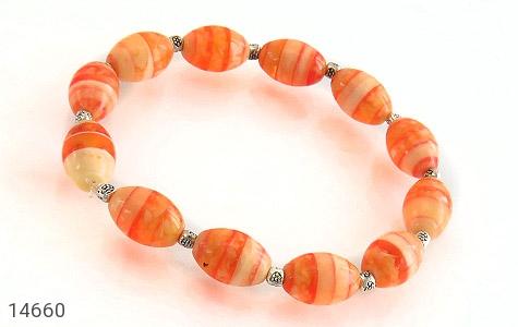 دستبند خوش رنگ زنانه - عکس 1