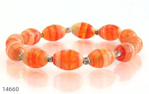 دستبند خوش رنگ زنانه - عکس 3
