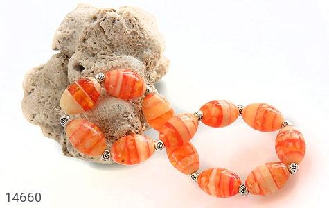 دستبند خوش رنگ زنانه - تصویر 4