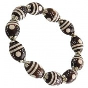 دستبند کوک (کشکول) مرصع و خوش رنگ زنانه