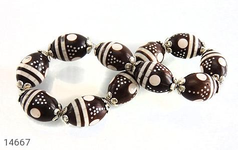 دستبند کوک (کشکول) مرصع و خوش رنگ زنانه - تصویر 2