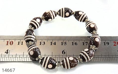 دستبند کوک (کشکول) مرصع و خوش رنگ زنانه - تصویر 4