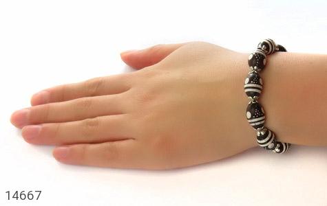 دستبند کوک (کشکول) مرصع و خوش رنگ زنانه - عکس 5