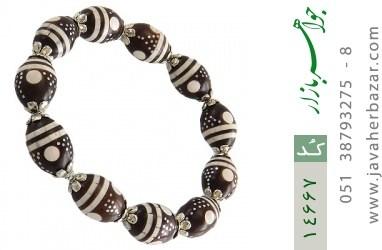 دستبند کوک (کشکول) مرصع و خوش رنگ زنانه - کد 14667