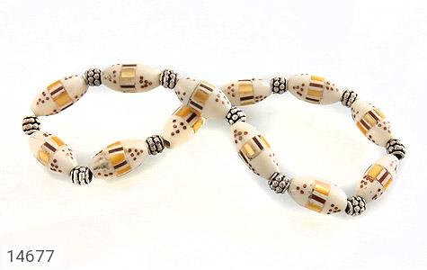 دستبند استخوان مرصع و جذاب زنانه - تصویر 2