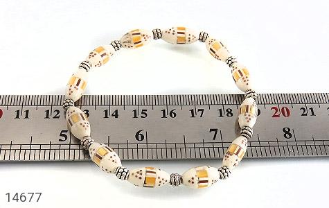 دستبند استخوان مرصع و جذاب زنانه - تصویر 4