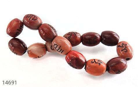دستبند نگین تزئینی حکاکی محمد الله - عکس 3