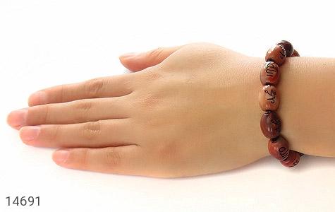 دستبند نگین تزئینی حکاکی محمد الله - تصویر 6