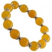 دستبند جید زرد و جذاب زنانه