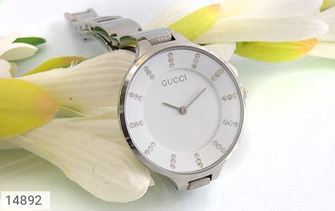 ساعت گوچی Gucci صفحه سفید کلاسیبک زنانه - عکس 5