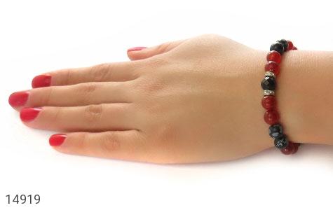 دستبند عقیق زیبا و جذاب زنانه - تصویر 6