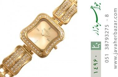 ساعت گس GUESS طلائی پرنگین مجلسی زنانه - کد 14960