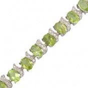دستبند زبرجد اشرافی طرح ملکه زنانه