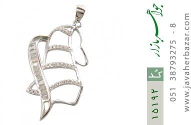 مدال نقره طرح حنانه زنانه - کد 15192