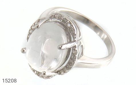 انگشتر دُر نجف طرح قطره زنانه - عکس 1