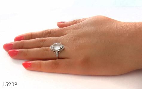 انگشتر دُر نجف طرح قطره زنانه - عکس 7