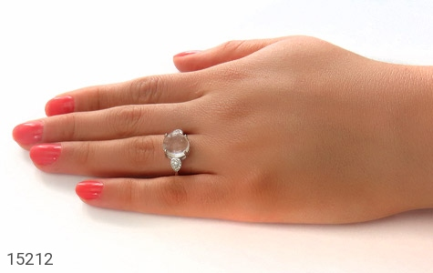 انگشتر دُر نجف طرح محبوب زنانه - عکس 7