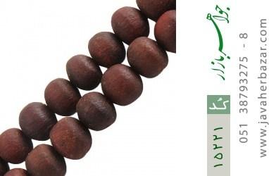 تسبیح چوب عناب 101 دانه درشت هنر دست - کد 15221