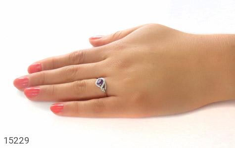 انگشتر آمتیست طرح مهناز زنانه - عکس 7