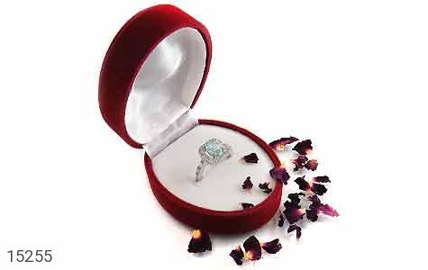 جعبه جواهر انگشتری مخملی زیبا - عکس 5