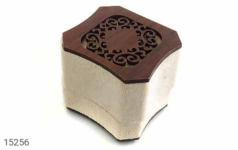 جعبه جواهر انگشتری مخملی لوکس - عکس 1