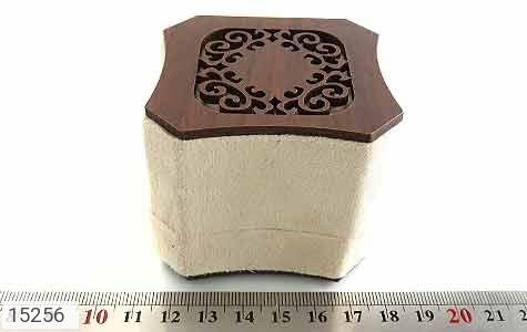 جعبه جواهر انگشتری مخملی لوکس - عکس 7