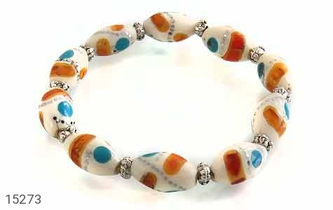 دستبند استخوان زیبا زنانه - عکس 1