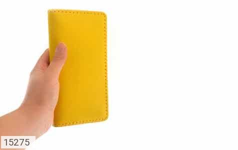 کیف چرم طبیعی زرد جذاب زنانه - عکس 9