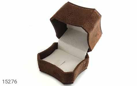 جعبه جواهر انگشتری مخملی لوکس - تصویر 2