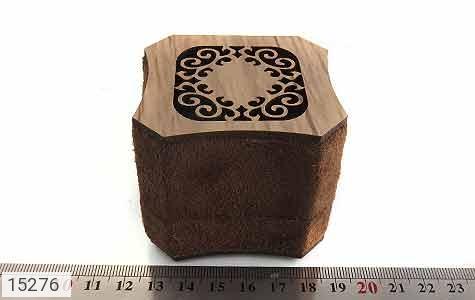 جعبه جواهر انگشتری مخملی لوکس - عکس 5