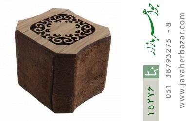 جعبه جواهر انگشتری مخملی لوکس - کد 15276