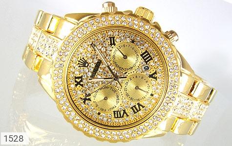 ساعت رولکس Rolex فول نگین زنانه - عکس 1
