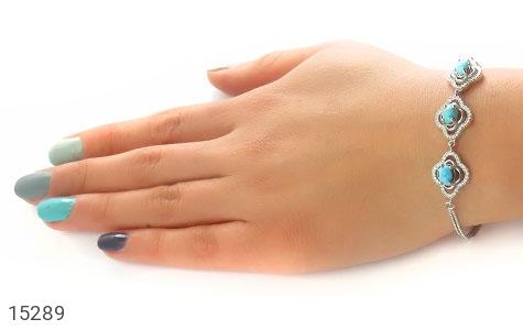 دستبند فیروزه نیشابوری - عکس 7